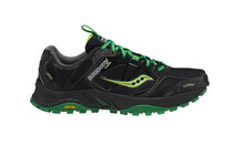 saucony Men's PowerGrid Xodus 4.0 GTX black/green/citron